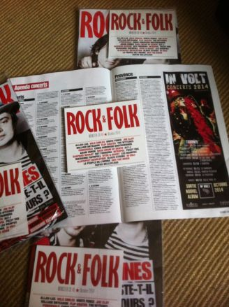 rock - folk octobre 2014